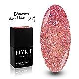 NYK1 NAILAC - DIAMOND WEDDING DAY - Professional Shellac Gel Nail...
