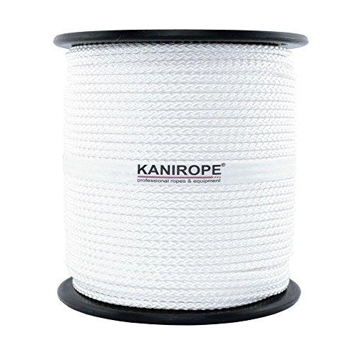 Nylonseil Polyamidseil Seil 4mm 100m geflochten Polyamid Perlon Nylon Tauwerk -