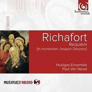 Richafort: Requiem in memoriam Josquin Desprez