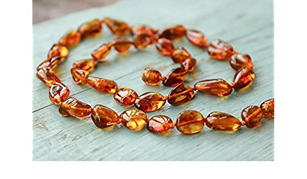 Authentic Raw Baltic Amber Necklace 17,5 5/'/' Pagan Stone