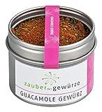 Zauber der Gewürze Guacamole Gewürz, für den köstlichen Dip aus reifen Avocados, ideal zu Tacos und Tortilla Chips, 45g
