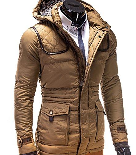 Padua betterStylz loisirs végétalien manteau d'hiver pour homme taille s-xXL) Beige - Beige/marron