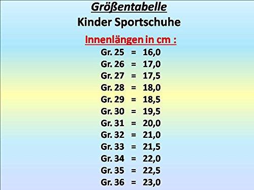 gibra , Baskets pour fille Schwarz/Weiß