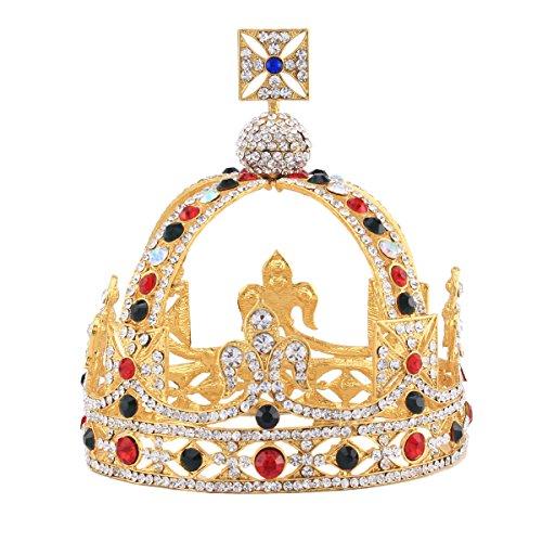sunshey-royal-cross-kings-crown-funny-party-hats-gold-wedding-crown-alloy-bridal-tiara-baroque-queen