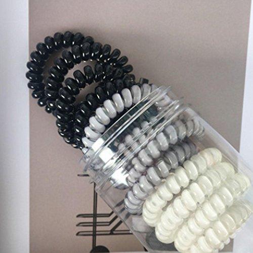 QCBC 12 Stück Haar Scrunchies Bobbles Elastischer Samt Bunte Scrunchy Haarbänder Krawatten, Farbe der Steigung , #144