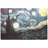 MANHATTAN Notebook Skin Geeignet fuer die meisten Widescreens bis 43,2cm 17Zoll Van Gogh Die Sternennacht 250 x 375 mm