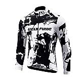 Uglyfrog #03 Herren Radsport Rennrad Trikot Sportbekleidung für Radsport Kleidung Winter Thermal Fleece Warm Fahrradjacke
