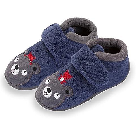 Zapatillas botines velcro niños Isotoner