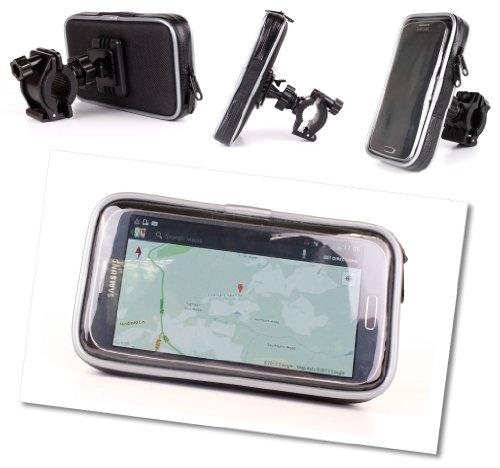 DURAGADGET Funda Resistente Al Agua Con Soporte Para Bicicletas Sirve Con El Samsung Galaxy S4 / S IV - (16GB 3G/4G ) Y Samsung Galaxy SIII Smartphone (16GB