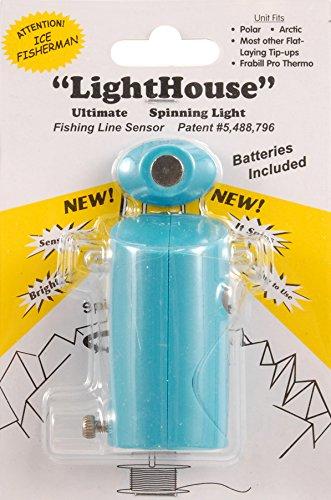 Leuchtturm Unternehmen Spinning Tip-up Lights, blau - South Bend Ein Licht