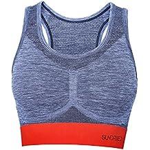 Sujetador Deportivo Racerback para Mujeres de UK Ethical Activewear Brand Sundried® (Large)