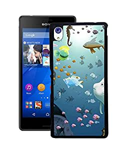 Crazymonk Premium Digital Printed Back Cover For Sony Xperia M4