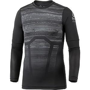 Reebok Herren Ac Ls Comp Tee – Ao T-Shirt