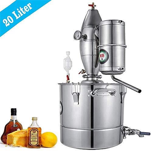 InLoveArts Home 4.4Gal Agua Alcohol Destilador Acero