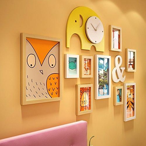 hjky Photo Frame Wall Juego Photo Frame Pared creativa combinación Home Contesto...