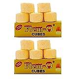 #4: NUBELA Flem-o Cubes Dry Fuel Cube - 10 Nos