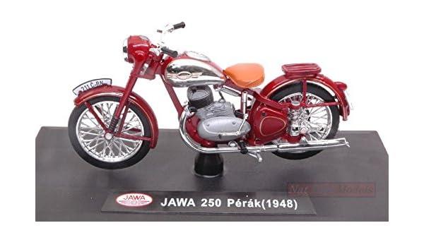 Jawa 250 Perak 1948 Amarant Moto Motorbike 1:18 Model ABREX