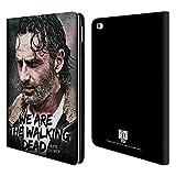 Head Case Designs Offizielle AMC The Walking Dead Zitat Rick Grimes Erbschaft Brieftasche Handyhülle aus Leder für iPad Air 2 (2014)