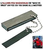 LCM2014 Genial ALLUMEZ Un FEU Partout Meme sous LA Pluie sans Allumette ! L'ALLUME FEU Magnesium DE Man VS Wild ! Raid Preparation 4X4