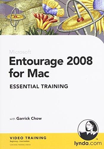 Entourage 2008 for Mac Essential Training (PC CD)