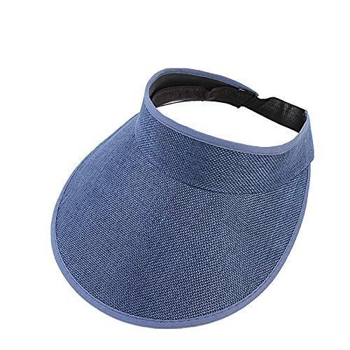 Saingace(TM) Hüte Unisex Visor Cap Sonnenhut Einstellbar Sommerhut mit Klettverschluss für Damen und Herren