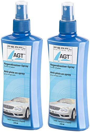 AGT Regenabweiserspray: 2er-Set Regenabweiser-Spray für Kfz-Scheiben, je 250 ml (Scheibenversiegelung)