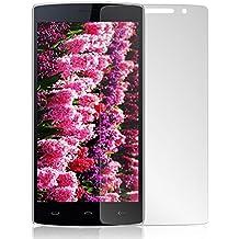 Protector de pantalla Cristal templado para HOMTOM HT7 Calidad HD, Grosor 0,3mm, Bordes redondeados 2,5D, alta resistencia a golpes 9H. No deja burbujas en la colocación (Incluye instrucciones y soporte en Español)