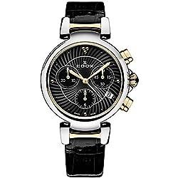 EDOX de mujer reloj de pulsera lapassion Cronógrafo Fecha Analógico de Cuarzo 10220357rc NIR