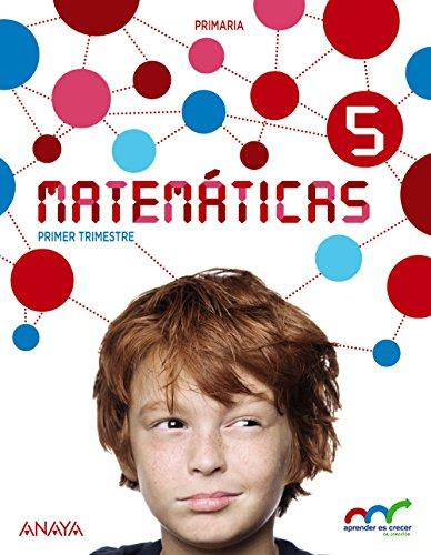 Matemáticas 5. (Con Resolución de problemas 5). (Aprender es crecer en conexión) - 9788467881882