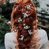 Hettie Gypsophila Wedding Hair Pin x1