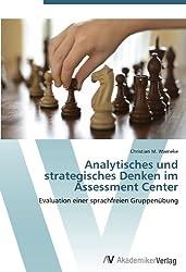 Analytisches und strategisches Denken im Assessment Center: Evaluation einer sprachfreien Gruppenübung