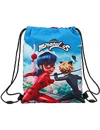 Preisvergleich für Ladybug & Cat Noir–Schlafsack Rucksack Junior (Safta 611716855)