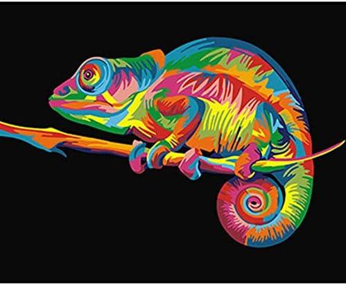 WACYDSD Puzzle Adulte 1000 1000 1000 Pièces Puzzle 3D Animaux Colorés Photos Bricolage Bricolage Décoration Murale Art | Avoir à La Fois La Qualité De La Ténacité Et De Dureté  6d6604