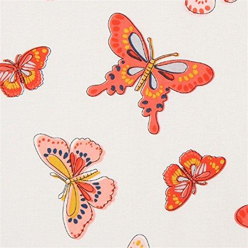 Michael Miller Designergewebe mit Insekten, aus den USA, Kollektion: All A Flutter, Daisy Paisley -