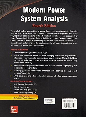 Modern Power System Analysis