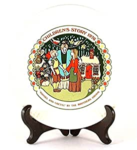 Wedgwood of Etruria boxed plate - Children's stories - Hansel and Gretel - 1976