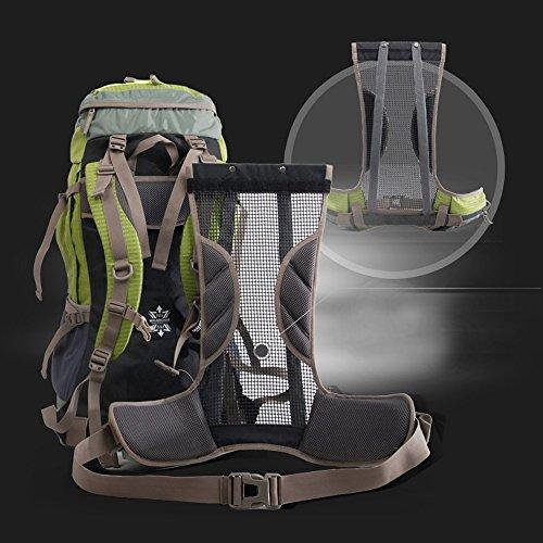 06b9cb31c8 ... Local Lion Zaino Unisex 45+5 Litri Impermeabile Leggero Copertina  antipioggia Trekking Outdoor Sport Alpinismo