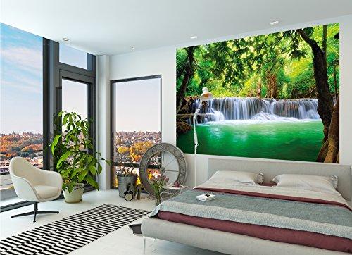 preisvergleich poster wasserfall feng shui wandbild dekoration natur willbilliger. Black Bedroom Furniture Sets. Home Design Ideas