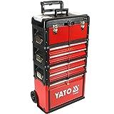 Werkzeug-Trolley mit 3 Modulen YT-09101 + Zusatzmodul YT-09107
