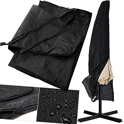KESSER Schutzhülle Schirmhaube Abdeckung für Sonnenschirm Schutzhülle Polyester Haube Ø300cm