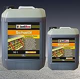 30 Liter Schalöl Professional Schaloel Trennmittel Betontrennmittel Schalungsöl Trennmittel für Formen und Schalungen Holz Metall Matrizenschalungen Mischerschutz