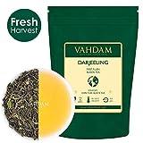 VAHDAM, 2019 Primo Flush Darjeeling Tè (50 tazze) - Fiorito, aromatico e delizioso - Selezionato, confezionato e spedito direttamente dall'India, Darjeeling Tè First Flush, 100g
