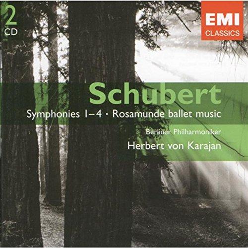 Symphonies n°1-4 - Rosamunde Ballet Music