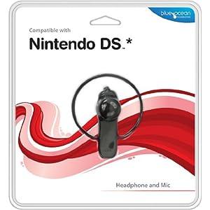 Nintendo DS – Headphone and Mic, schwarz [UK Import]