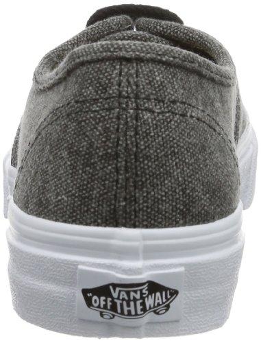 Vans U Authentic Slim (Rope Lace) Bla, chaussons d'intérieur mixte adulte Gris - Grau ((Rope Lace) bla)