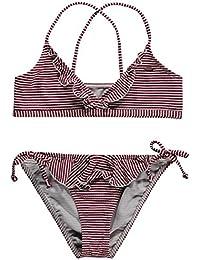 O 'Neill niña Structure Triangle Bikini Bikinis, niña, Structure triangle bikini, Rot Aop, 152