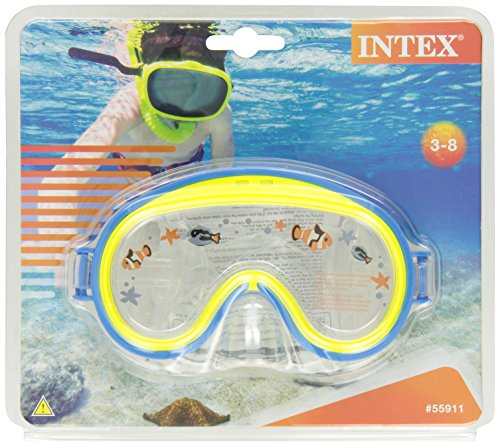 Intex 55911 - Maschera Mini Aviator, Multicolore