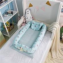 Cojín nido suave para cuna para bebé con almohada ...