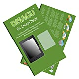 Amazon Kindle Paperwhite 3G Displayschutzfolie - 6x Ultra Clear Schutzfolie für Amazon Kindle Paperwhite 3G