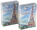 Paris  et sa region  vus par les peintres-jeu 54 cartes...